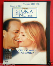 dvd snapper storia di noi due the story of us bruce willis michelle pfeiffer f v