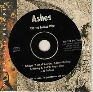 ASHES And The Angels Wept PROMO CD 1998 Mini-Album Heavy Metal 6 Songs
