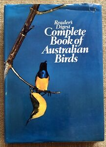 Complete Book of Australian Birds Reader's Digest HC DJ 1977 Photo Insert 1st Ed