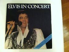 ELVIS PRESLEY - ELVIS IN CONCERT -  (2) RECORD ALBUM SET      N MINT