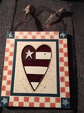 Country Heart Wall Hanging