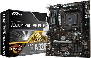 Athlon 3000g + MSI A320m Combo
