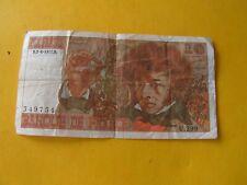 Billet 10 Francs Berlioz 1977