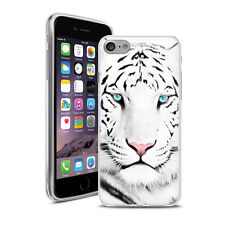 Coque Housse Iphone 7 - Motif Tigre Blanc