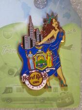 NEW YORK,Hard Rock Cafe Pin,Sexy Flag Landmark Girl