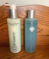 Set Crabtree Evelyn La Source Body Wash & Body Lotion with Pump New Lot