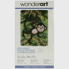 "Wonderart Latch Hook Kit Swingin' New 15"" X 20"""