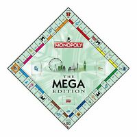 WINNING MOVES MEGA EDITION MONOPOLY BOARD GAME