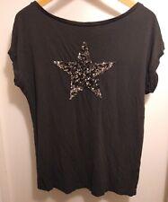 Ladies Mint Velvet Sequinned T-shirt
