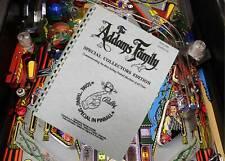 Addams Family Pinball Arcade Game Parts And Operation Manual 140, Page (1994)