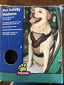 Top Paw Pet Safety Harness For 50-80 Lbs. New In Box