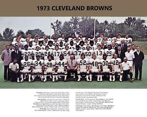 1973 CLEVELAND BROWNS  8X10 TEAM PHOTO FOOTBALL PICTURE NFL
