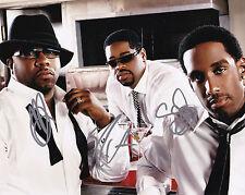 Boyz 2 II Men Signed Autographed 8x10 Motownphilly Wayna Nathan Morris +1 Proof