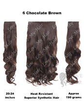 """KoKo  3 Piece 20"""" Curly Hair Extensions, Heat Resistant, 190 grams (E3)"""