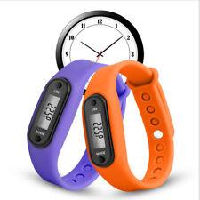 Contapassi Tracker Fitness Non-Bluetooth silicone Bracciale calorie sk