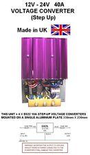 12V to 24V STEP UP DC-DC VOLTAGE CONVERTER 40AMP 960W, 12V-24V Voltage Converter