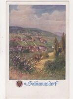 Salmannsdorf Austria Vintage Art Postcard US073