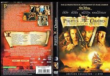 """DVD """"Pirates des Caraïbes - La malédiction du Black Pearl"""" - collector 2 dvd"""