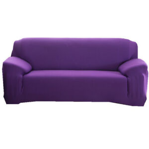 1/2/3/4 Seater L shape Elastic Sofa Cover Stretch Couch Slipcovers Modern Decor