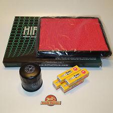 Honda Motore Kit di manutenzione per CBR600F 87 to 90 Filtro Aria E Olio Candele