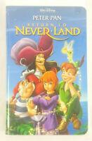 Peter Pan In Return To Neverland VHS 2002 Clamshell Walt Disney Children Family
