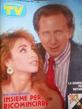 TV Sorrisi e Canzoni n°15 1986 Trailer 9 Settimane e 1/2 Mike Bongiorno [D40]