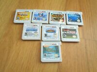 Nintendo 3ds game lot of 8 games 2ds xl