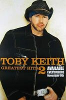Toby Keith (Greatest Hits 2) Original Musik Plakat