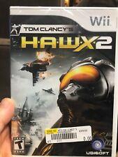 Nintendo Wii Tom Clancy's HAWX H.A.W.X. 2 sealed NIB