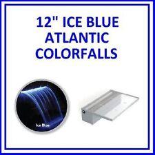 "Atlantic Water Gardens Waterfall Colorfalls 12"" w/ Ice Blue LED Lights CF12B"