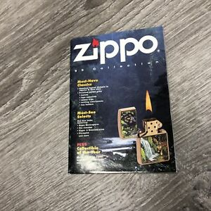 zippo 1995 collection book Pamphlet