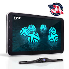 "Pyle PL1SN104 10.1"" Touch Screen In-Dash Single DIN Player with Back up Camera"