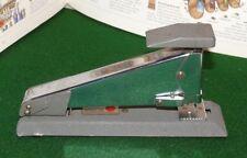 Vintage Apsco Stapler Standard Size Working Made in Sweden Gray Fleck Metal
