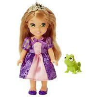 Disney Petite Rapunzel Princess  & Pascal Doll Girls Toy 7''