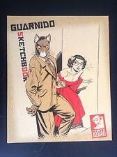 Carnet de croquis Sketchbook Guarnido Num et signé Comix Buro ETAT NEUF