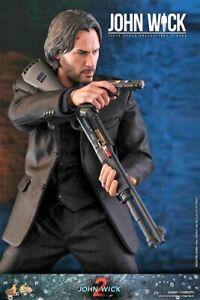"Hot Toys JOHN WICK 1/6 12"" FIGURE Keanu Reeves  Mint SEALED USA"