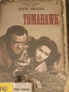 Tomahawk Van Heflin Yvonne DeCarlo DVD Brand New