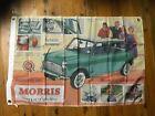 Morris mini Leyland Man cave flag printed banner Mini Cooper wall hangings sign