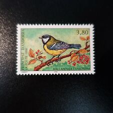 ANDORRA FRENCH N°471 BIRDS / CHICKADEE NEUF LUXE MNH