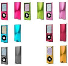 Apple iPod Nano 4th Gen 2 Piece Snap On Hard Case Cover Screen Protector Guard