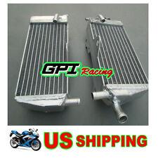 FOR Honda CR125 CR 125R CR125R 2-stroke 1989 89 aluminum alloy radiator