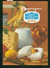 Recettes de la maison MAIZENA cahier 4 lait quark fromage-tribunaux photos 1960er