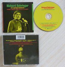 CD ALBUM C'EST BEAU UNE VILLE LA NUIT RICHARD BOHRINGER ET AVENTURES