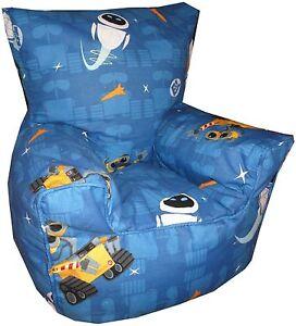 Wall-E Bean bag, Children's Wall E Character Bean Chairs, Kids  Beanbag Sofa's