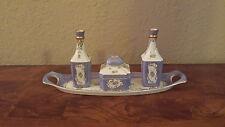5pc Andrea by Sadek, Porcelain Vanity Set