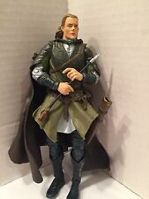 "2004 Lord Of The Rings ToyBiz Action Fig 7.5"" Legolas Helms Deep Two Towers  #23"