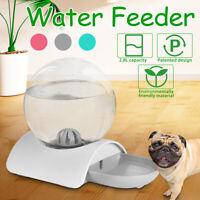 Haustier Automatischer Wasserspender Trinkbrunnen Futterspender Hunde Katzen