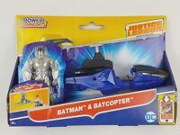 DC Justice League Action Batman & Batcoper Vehicle & Figure, 4.5