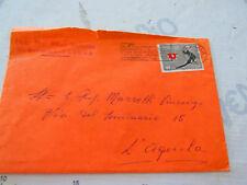 """Busta Viaggiata 1966 Italia repubblica con timbro postale """"Non attardatevi..."""""""