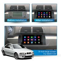 For BMW E39 E53 X5 9'' Double Din Android 9.1 Car Radio Stereo MP5 GPS Navi WIFI